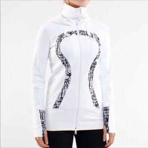 Lululemon white stride jacket